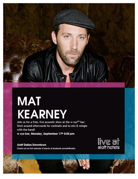 Mat Kearney Here We Go by Here We Go Acoustic Mat Kearney