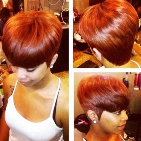 20 ideas of pixie haircuts with weave
