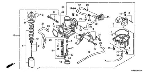 honda recon 250 carburetor wiring diagrams wiring diagrams