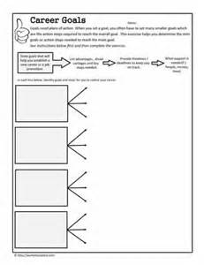 occupational therapy goal setting template 17 best images of school goals worksheet middle school
