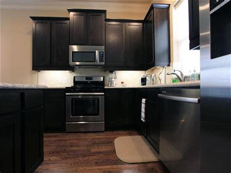 dark kitchen cabinets with dark floors dark cabinets dark wood floors google search flooring