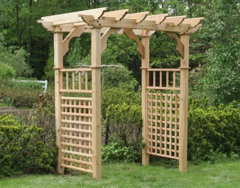 Outdoor Arbors And Trellises Garden Arbors Trellises Swings And More To Grace Your