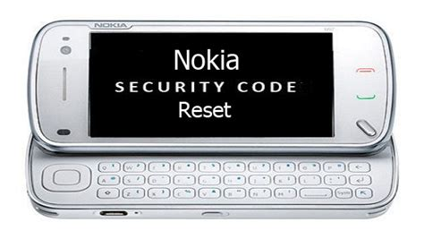 nokia mobile software reset code how to reset forgotten nokia security code tjosm com