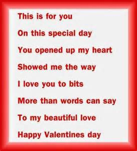 Poems images for valentines day