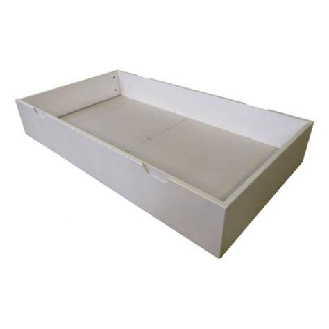 mm bed drawer white laurette design children - Bett 70x140