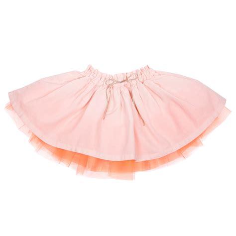 light pink tulle skirt light pink tulle skirt emile et ida skirts angelibebe