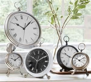 pocket desk clock pocket clock pottery barn