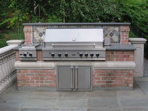 custom backyard bbq grills bbq outdoor kitchens nj built in grill fireplace design ideas