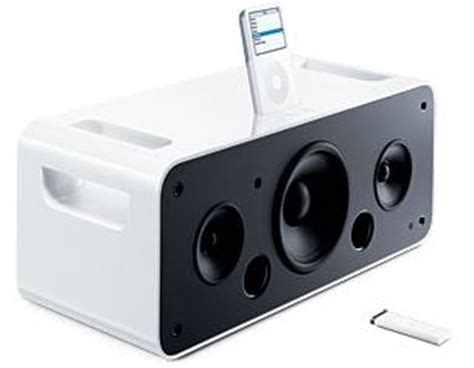 Isoundspa Speaker System For Ipods Is Also A Soothing Sound Station apple ipod hi fi speaker system launched