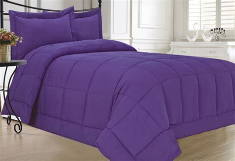 twin alternative down comforter purple down alternative comforter set twin ebay