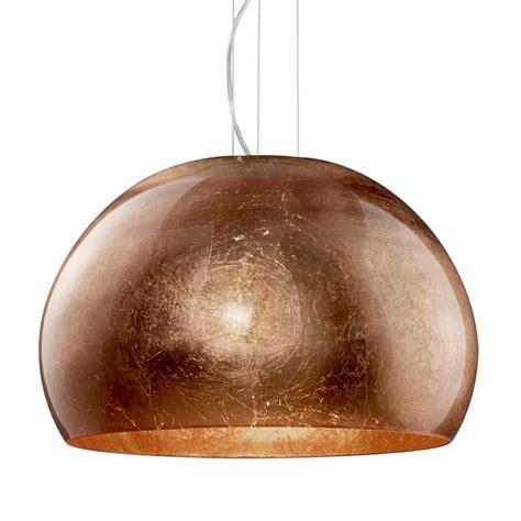 lights ontario ontario copper glass and chrome glass pendant light