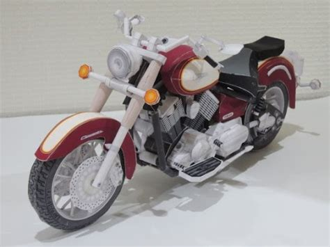 Motorcycle Papercraft - motor paper craft best yamaha papercraft motorcycle vmax