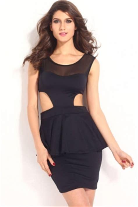 Ip130 Tas Fashion Import Waving Bow peplum dresses for sale