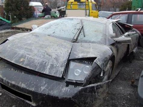 Lamborghini Destroyed Another Lamborghini Destroyed Car News Top Speed