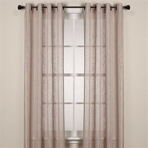 Buy Alton Solid Grommet 108 Inch Window Curtain Panel In