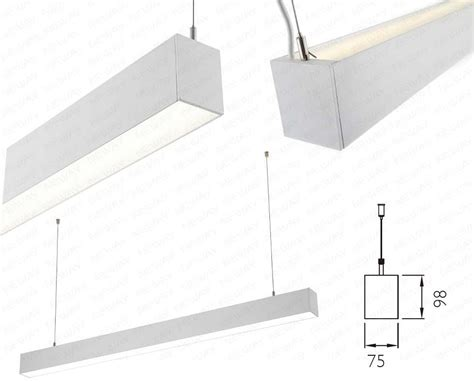 indirect pendant lighting linear suspension led direct indirect lighting suspended