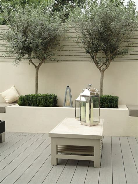 planters with bench seating bench seating and planters sage green landscape outdoor space pinterest bench