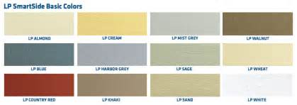 lp smart siding colors lp smart side composite siding guardian inc of milwaukee