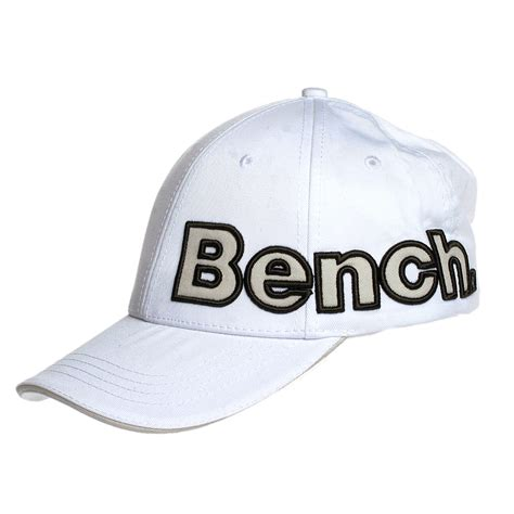 bench caps bench baseball cap white reem