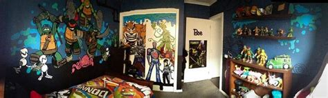 teenage mutant ninja turtles bedroom ideas hand painted by myself teenage mutant ninja turtle