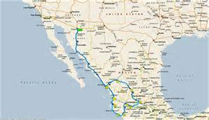 Copper Canyon Mexico Map by Mexico Beaches And Copper Canyon Itinerary