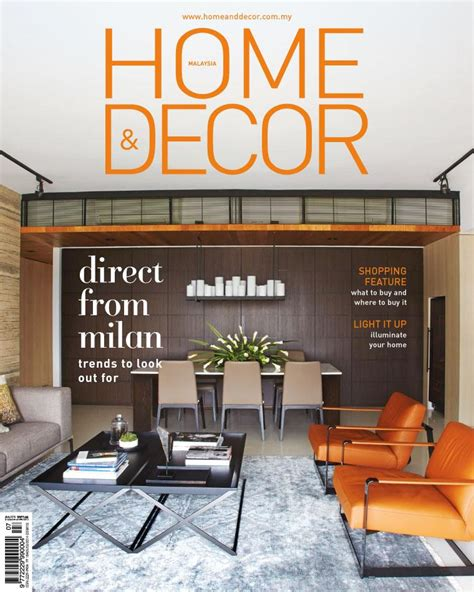 Home Decor Magazines Malaysia home amp decor malaysia magazine july 2015 gramedia digital
