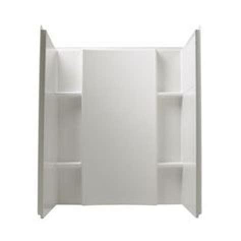shop delta laurel high gloss white acrylic bathtub wall delta laurel high gloss white acrylic bathtub wall