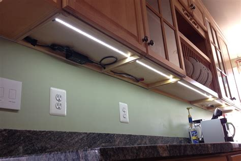 Under Cupboard Lighting Led Roselawnlutheran Led Lights Cabinets