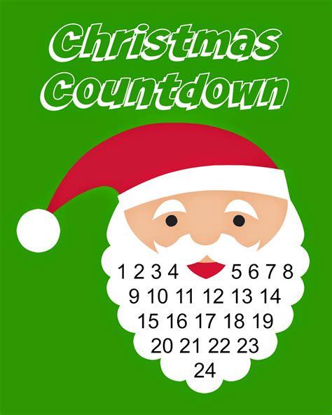 printable xmas countdown east coast mommy christmas countdown printable