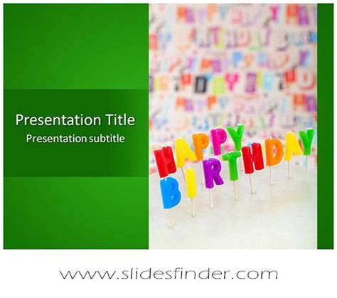23 Best Free Abstract Art Powerpoint Templates Images On Birthday Presentation Template