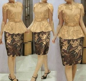 Setelan Cape Brukat White Atasan Rok baju dress maxi kebaya modern terbaru cantik