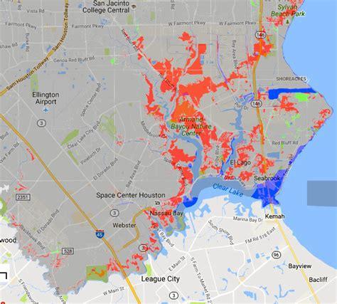 houston flood map 2016 a tour of spots where fema will expand its flood