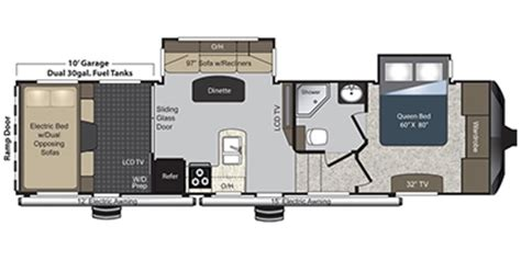 keystone raptor floor plans 2014 keystone raptor 300mp reviews airstream trailer reviews