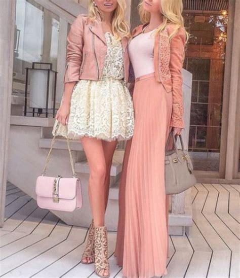 Lace Pink Crop Top Skirt Gaun Malam Dress Baju Pesta Import dress lace dress maxi skirt maxi dress pink dress maxi jacket blazer