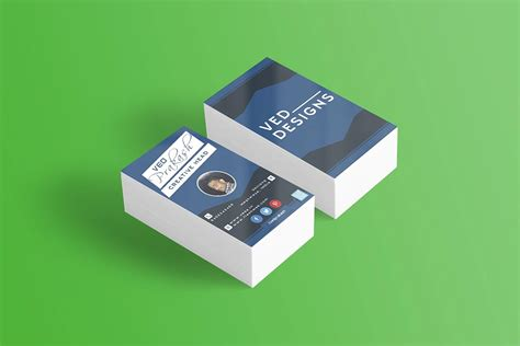 free flat card templates free flat business card mockup creativetacos