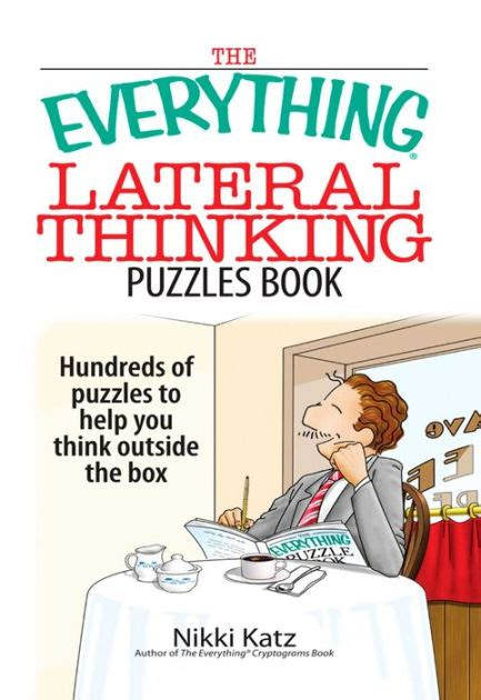 lateral thinking a textbook 0241257549 the everything lateral thinking puzzles book hundreds of puzzles to help you think outside the
