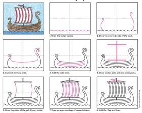 viking longship template viking longship template www imgkid the image kid