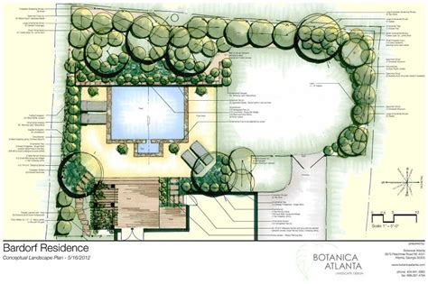 Landscape Design Plans Backyard by Custom Landscaping Backyard Landscaping Plans