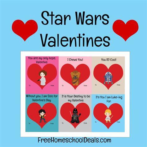 printable card wars free printable star wars valentines instant download