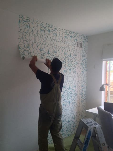 removable wallpaper clean removable non vinyl wallpaper for renters proof it
