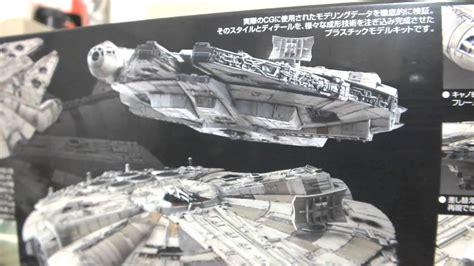 Cetakan Es Batu Model Wars Millennium Falcon wars millennium falcon bandai part 1 2 unboxing