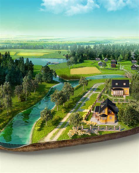 birt layout landscape islands mix on behance