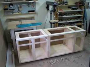How To Make Custom Kitchen Cabinets woodworking build your own custom kitchen cabinets youtube