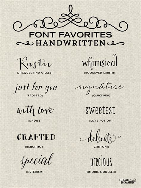 typography writing font favorites handwritten michellehickey design