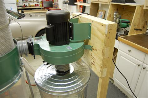 harbor freight table saw dust collector harbor freight dust collector mod by lumberjocks