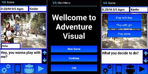visual novels for android visual adventure novel android adventure adventure templates for android codester