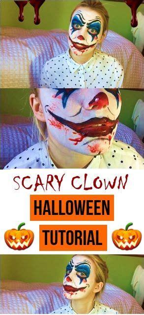 17 Best Ideas About Scary by 17 Best Ideas About Scary Clown Makeup On