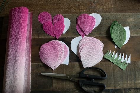 diy crepe paper roses 183 how to make a paper flower