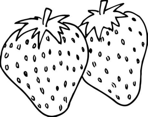 imagenes para colorear fresa dibujos alimentos fotos imagenes fotos de fresas