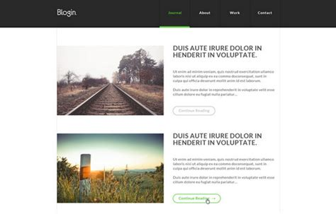 blog theme css 100 best free html css themes of 2014 noupe